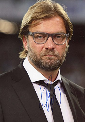Jürgen Klopp LIVERPOOL autograph, IP signed photo
