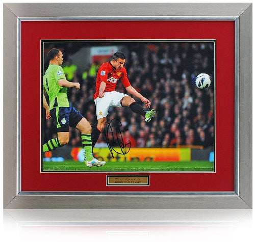 "Robin Van Persie Hand Signed 16x12"" Manchester United Photo"