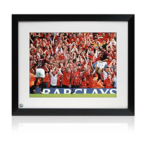 Signed And Framed Robert Pires Arsenal Photo: Farewell To Highbury
