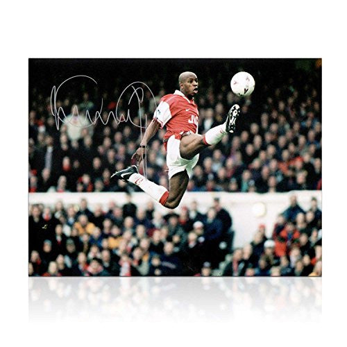 Ian Wright Signed Arsenal Photo: The Perfect Touch | Autographed Sport Memorabilia
