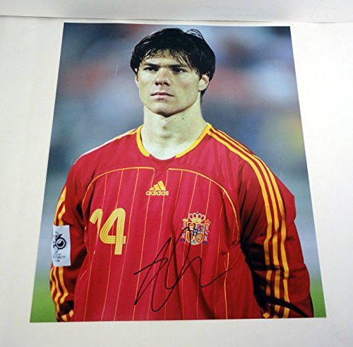 Xabi Alonso Signed Autograph 11x14 Photo COA #3