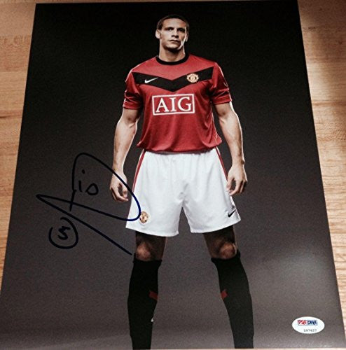 Signed Rio Ferdinand Photo - Pose 11x14