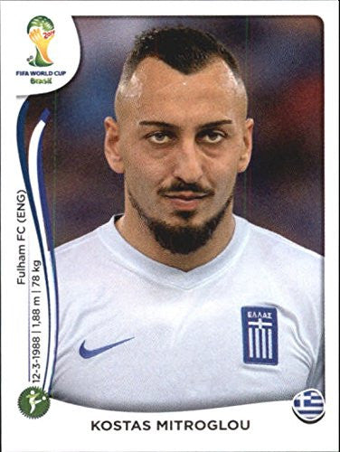 2014 Panini World Cup Stickers #221 Kostas Mitroglou