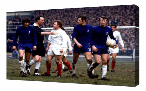 Leeds Billy Bremner - Canvas Art Print