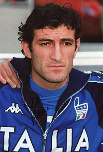 Ciro Ferrara autographed, In-Person signed photo