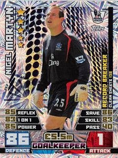 Match Attax 2014/2015 Nigel Martyn