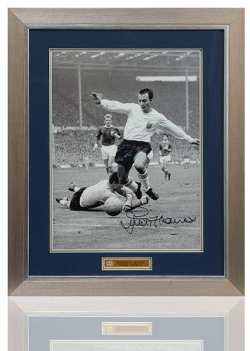 "Large Jimmy Greaves hand signed England 16x12"" Photo (PP575)"