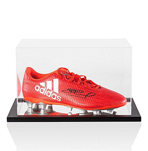Steven Gerrard Signed Boot Adidas X 16.4 In Acrylic Display Case
