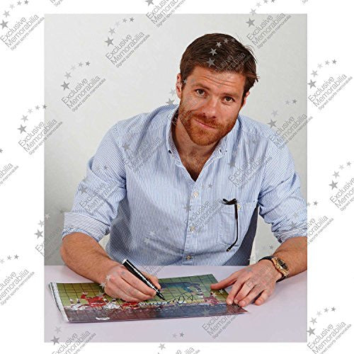 Framed Miracle Of Istanbul Liverpool Photo Signed By Xabi Alonso