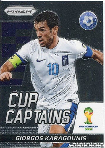 Panini Prizm World Cup 2014 Cup Captains 11 Giorgos Karagounis