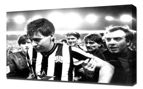 Newcastle Chris Waddle 1 - Canvas Art Print