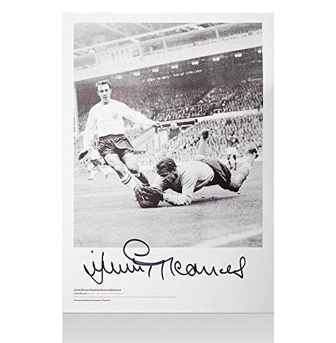 Jimmy Greaves Signed Photo - Spurs Autograph