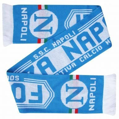 SSC Napoli Football Crest Scarf
