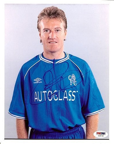 Didier Deschamps Signed 8x10 Photograph France - PSA/DNA Authentication - Sports Memorabilia