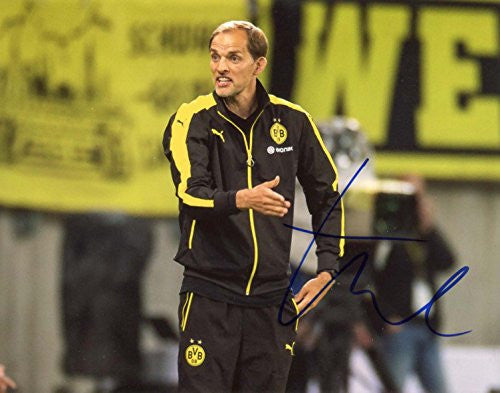 Thomas Tuchel autographed, IP signed photo