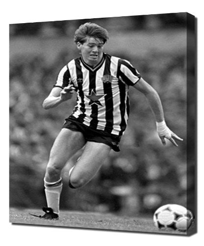 Newcastle Chris Waddle 3 - Canvas Art Print