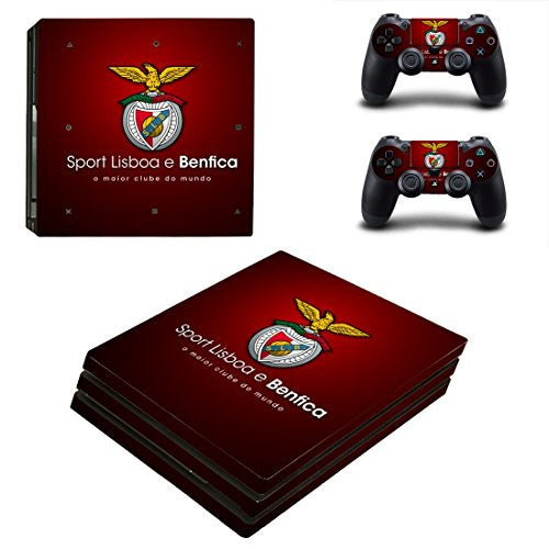 Sport Lisboa e Benfica PS4 Pro Edition Skin Decal for console and 2 controllers