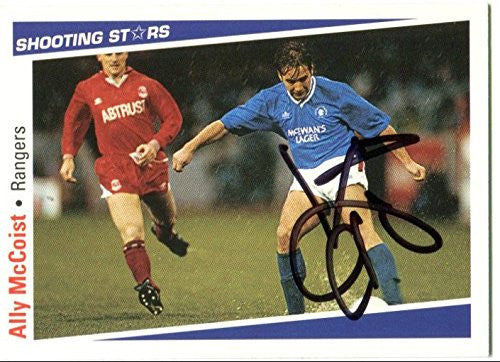 Ally McCoist Signed 1991/1992 Trading Card