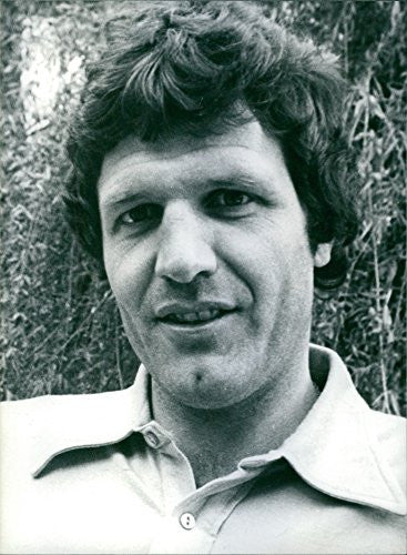 Vintage photo of Portrait of John Toshack. 1979.