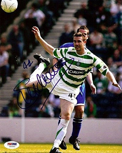 Stephen McManus Autographed Signed 8x10 Photo Celtic #U54963