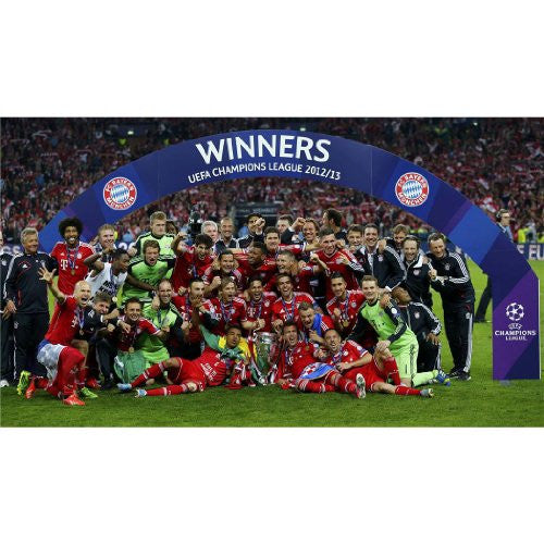 Bayern Munich Celebration Poster