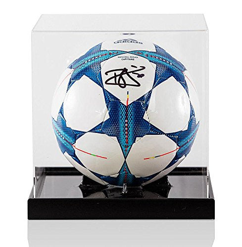 Dele Alli Signed UEFA Champions League Football - In Acrylic Display Case - Autographed Footballs