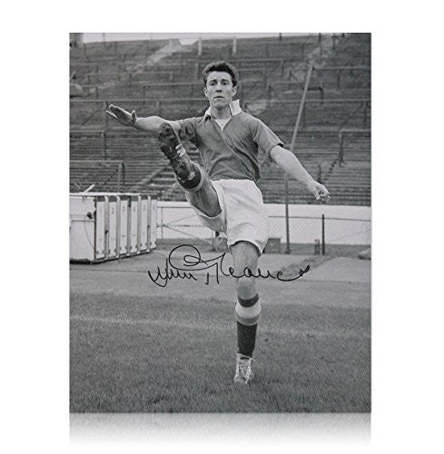 Signed Jimmy Greaves Photo - Goalscoring legend