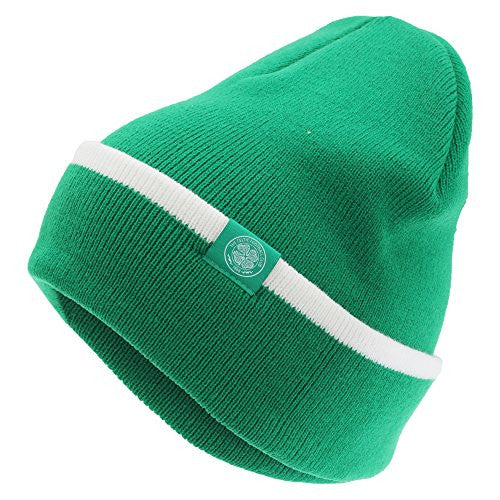 Celtic FC Crest Knitted Winter Beanie