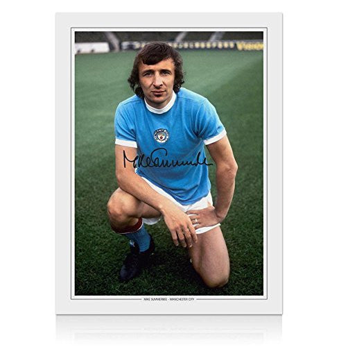 Signed Mike Summerbee Autographed