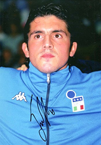 Gennaro Gattuso ITALIAN autograph, IP signed photo
