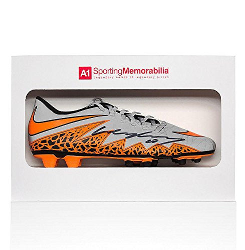 Wayne Rooney Signed Football Boot Nike Hypervenom