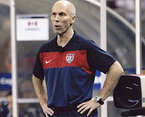 COACH BOB BRADLEY USA MEN'S SOCCER 8X10 SPORTS ACTION PHOTO (PEG)