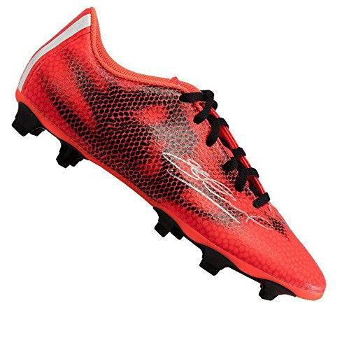 Steven Gerrard Signed Boot - Adidas F50 Adizero Solar Red Autographed
