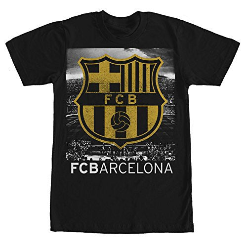 FC Barcelona Camp Nou Mens Graphic T Shirt