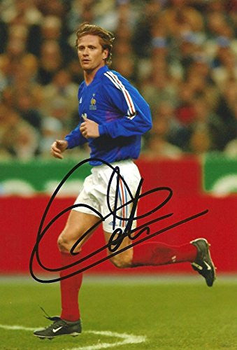 Emmanuel Petit Autographed, In-Person signed photo