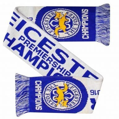 Leicester City 2016 Champions Scarf