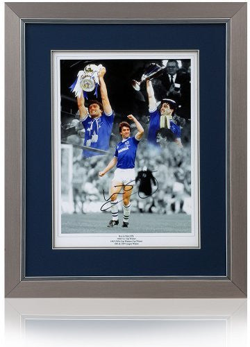 "Kevin Ratcliffe Hand Signed 16x12"" Everton F.C. Montage"