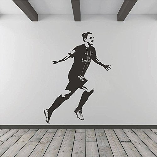Zlatan Ibrahimovic PSG Wall Decal Sticker