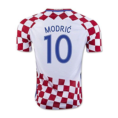 2016-17 Croatia Home Shirt (Modric 10)