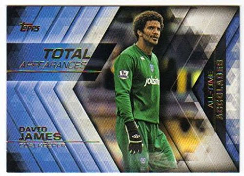 2015-16 Topps Premeir Gold All Time Accolades #AA-8 David James Portsmouth