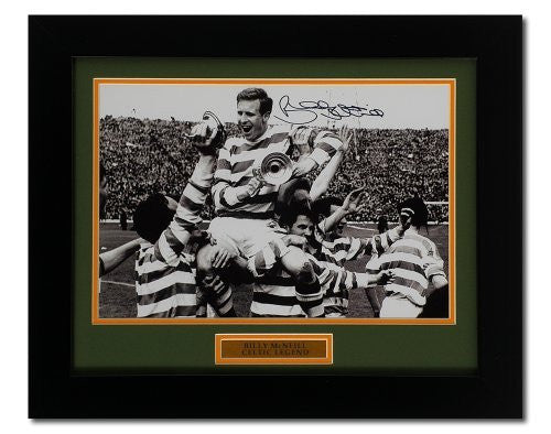 "Billy McNeill hand signed 12 x 8"" photograph (PP367)"
