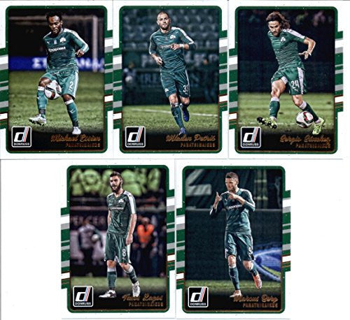 Panathinaikos Set of 5 Cards SEALED in Protective Snap Case