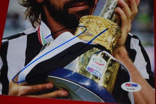 Signed Andrea Pirlo Photograph