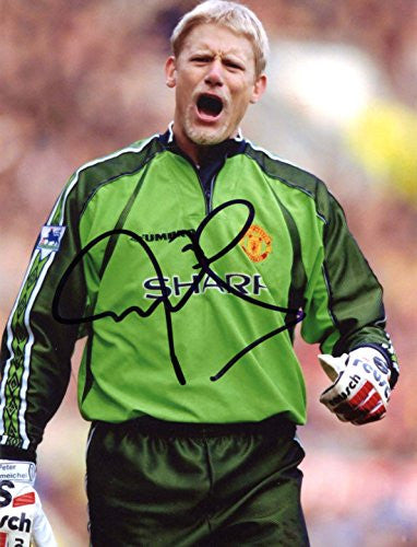 Peter Schmeichel GOALKEEPER autograph, IP signed photo