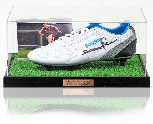 Stuart Pearce hand signed West Ham United Football boot presentation (LOT562)