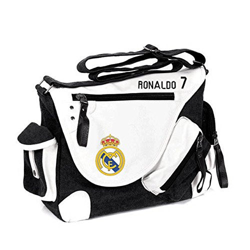 Real Madrid Cristiano Ronaldo 7 Canvas Shoulder Bag