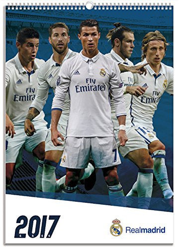 Real Madrid Official Wall Calendar