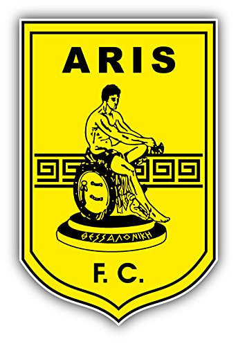 Aris F.C. Art Decor Vinyl Sticker 3'' X 5''