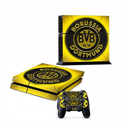 BVB Borussia Dortmund Vinyl Skin Decal Cover for Sony Playstation 4