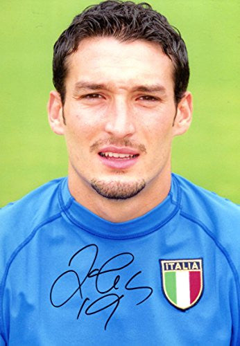 Gianluca Zambrotta autograph, In-Person signed photo